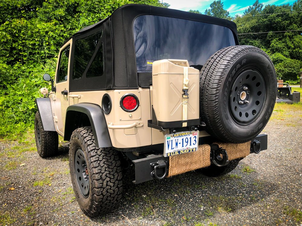 Building A Custom Military Edition Jeep Jk Ocd Offroad