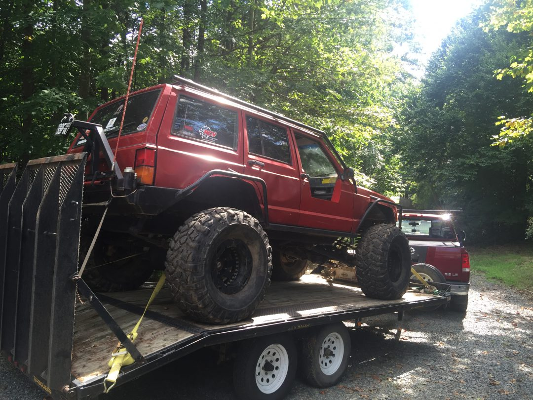 My Jeep Cherokee XJ needs a lot of work!
