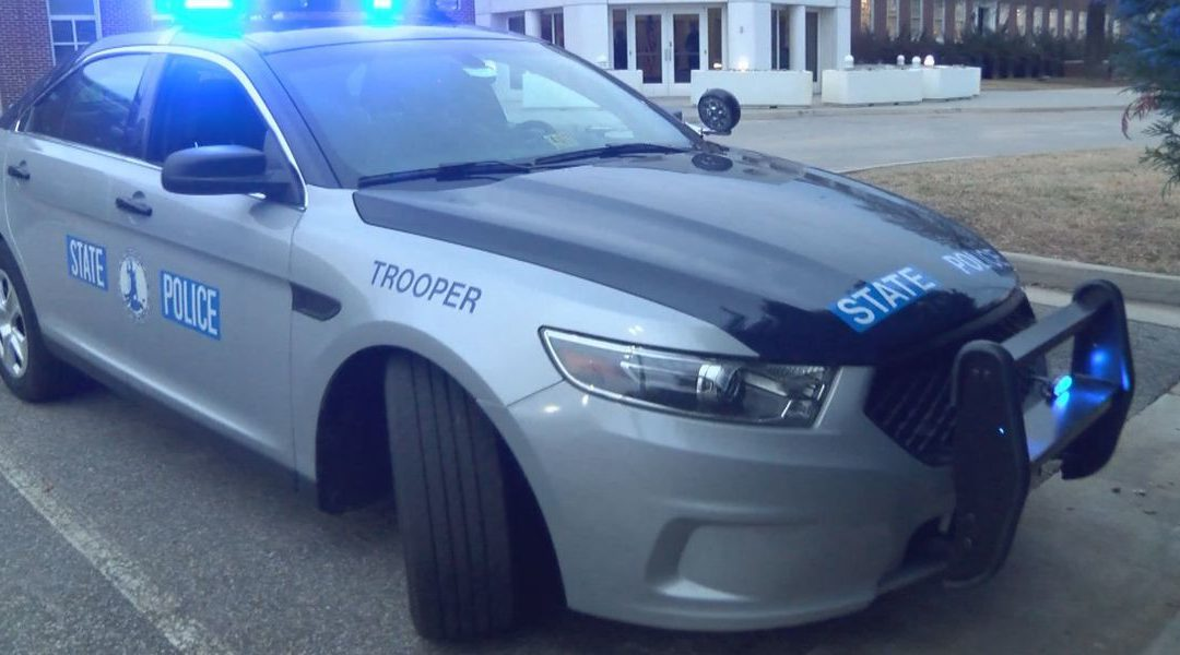 VA State Trooper Inspection Stop