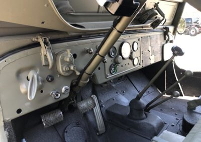 Jeep M38 Dashboard