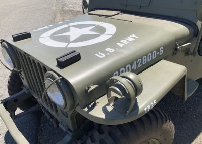 Hood Graphics for the Jeep Willys M38