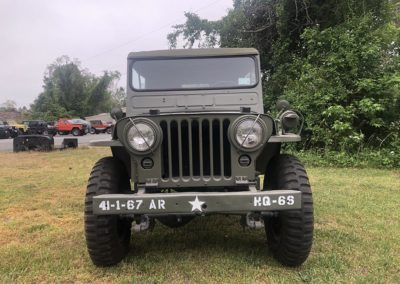 Jeep WIllys M38 Front View