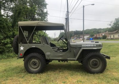 Jeep Willys M38 Side View