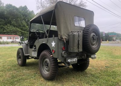 Jeep WIllys M38 3/4 rear photo 2