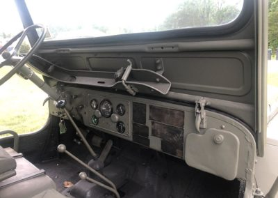1950 Willys Jeep M38 Dashboard
