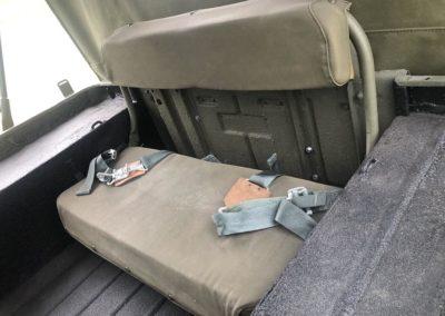 M38 Back Seat